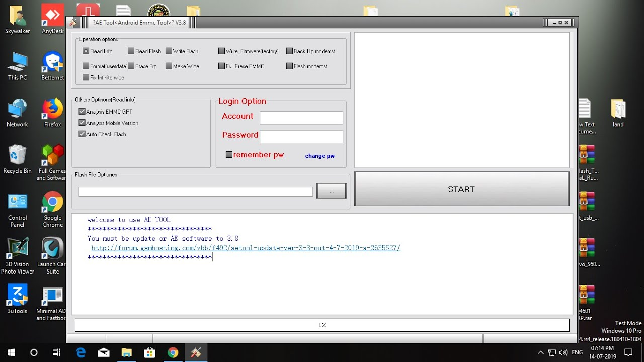 How To Install AE Tool V3 8 MRT Oppo Vivo emmc tool gsm forum fix