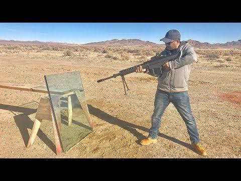 50-cal vs bulletproof glass