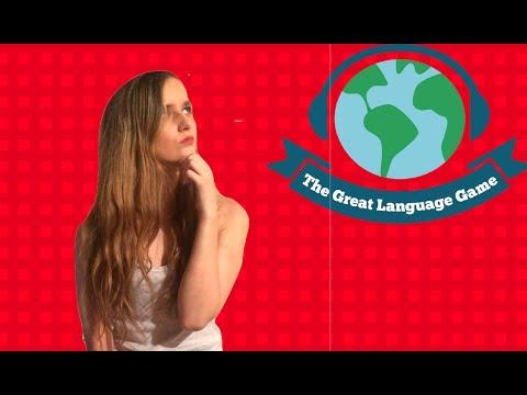Tu le riconosci queste lingue? The great language game