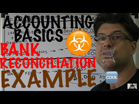 Accounting for Beginners #59 / Bank Reconciliation Example / Adjusted Balance / Accounting Basics