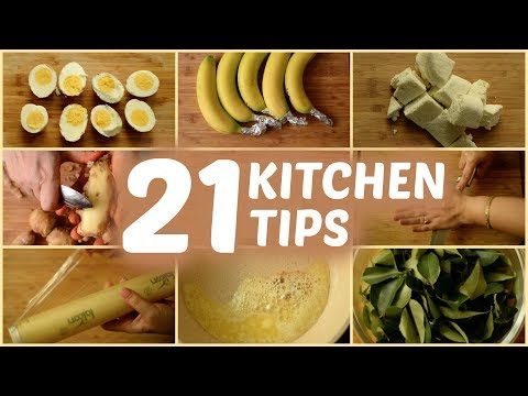 21 AMAZING AND USEFUL KITCHEN TIPS AND TRICKS (Part 2)    इन 21 उपयोगी किचन के टिप्स को ज़रूर देखे
