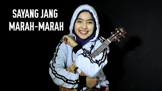 Sayang jang marah-marah - R. Angkotasan cover by adel angel ukulele cover