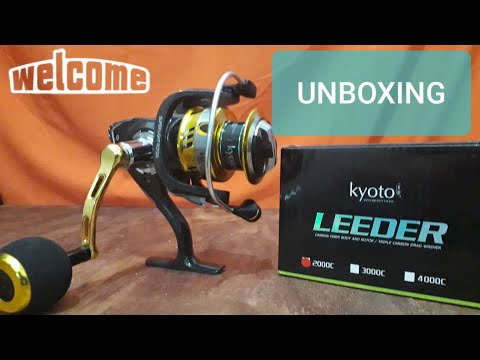 UNBOXING Reel kyoto LEEDER 2000C part 2 | Muhammad Taufan