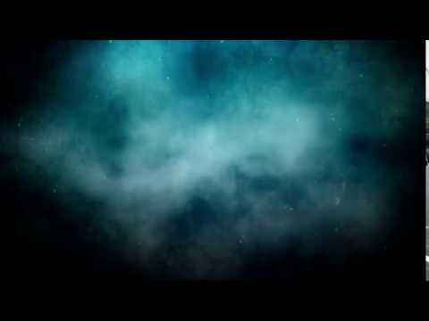 Blurred Blue Smoke Background Motion Video Loops HD