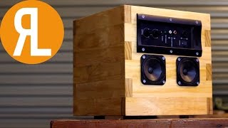 DIY Speaker From Reclaimed Components | Woodworking