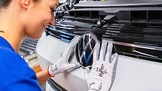 2020 VW GOLF 8 production line – Volkswagen Car Factory