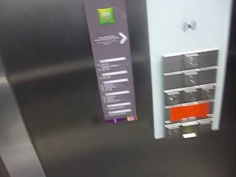 Riding The Elevator At Ibis Styles Trier
