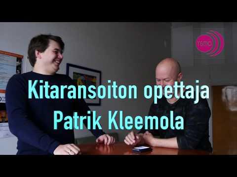 Kitaraopettaja Patrik Kleemola