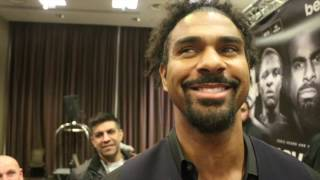 'F*CKING RETARDS!' -DAVID HAYE GOES IN ON SCOUSE FANS, TONY BELLEW, & ON HOSTILE LIVERPOOL PRESSER