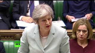 LIVE: May gives statement to MPs on Council of the European Union