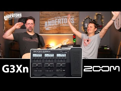 Zoom G3Xn Guitar FX Unit - Massive Sounds Mini Price!