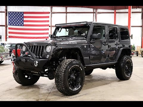 Grey Jeep Wrangler >> 2017 Jeep Wrangler Rubicon Grey