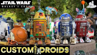 INSANE Custom Droids from Star Wars: Galaxy's Edge