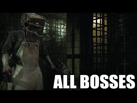 The Evil Within - All Bosses (With Cutscenes) HD 1080p60 PC