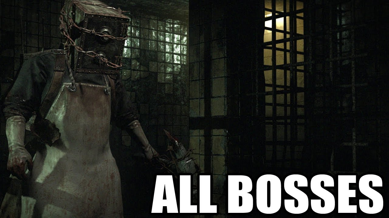Download The Evil Within - All Bosses (With Cutscenes) HD 1080p60 PC