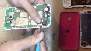 Moto E Desmontagem Troca da tela touch com display