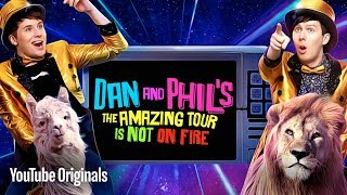 "Dan and Phil present their hit international stage show ""The Amazin..."