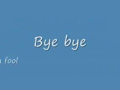 Bye Bye Bye Lyrics