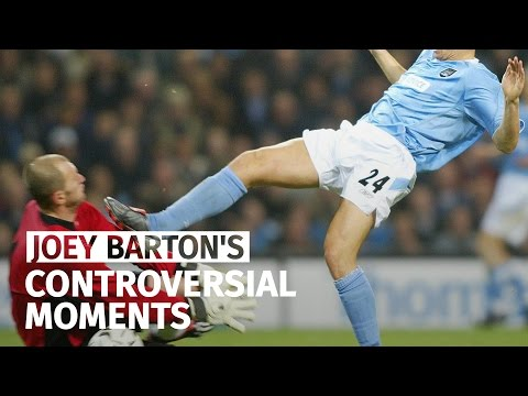 Joey Barton Banned - A Timeline Of His Controversial Moments