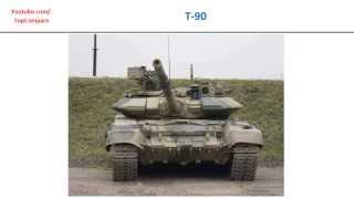 Ariete vs T-90, Main Battle Tank specs comparison