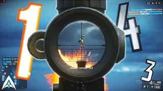FLYING HEADSHOT SNIPE - Battlefield Top Plays