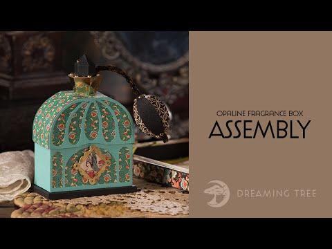 SVG File - Opaline Fragrance Box - Assembly Tutorial
