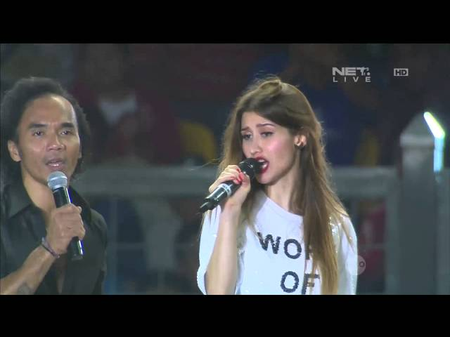 Slank & M. Fernandez - I Miss You But I Hate You - Closing Ceremony 100 Tahun Jenderal Sudirman Cup