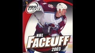 NHL FaceOff 2003 - PS2 2002 (Opening)