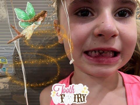 Как ВЫРВАТЬ ЗУБ быстро ребенку или наш 2-ой зубик ПОКА. Зубная ФЕЯ. Tooth Fairy #2
