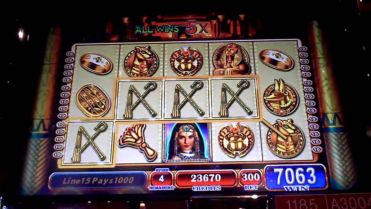 slot machine egypt