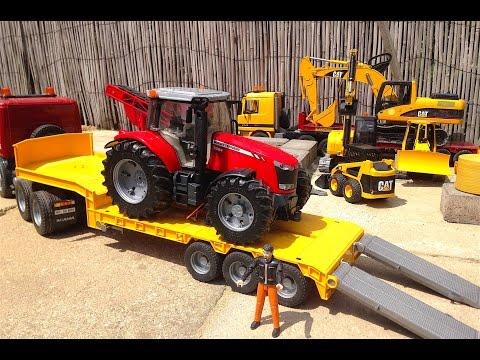 stora traktorer