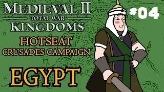 Medieval 2: Total War - Kingdoms Crusades Hotseat Campaign - Egypt - Part Four!