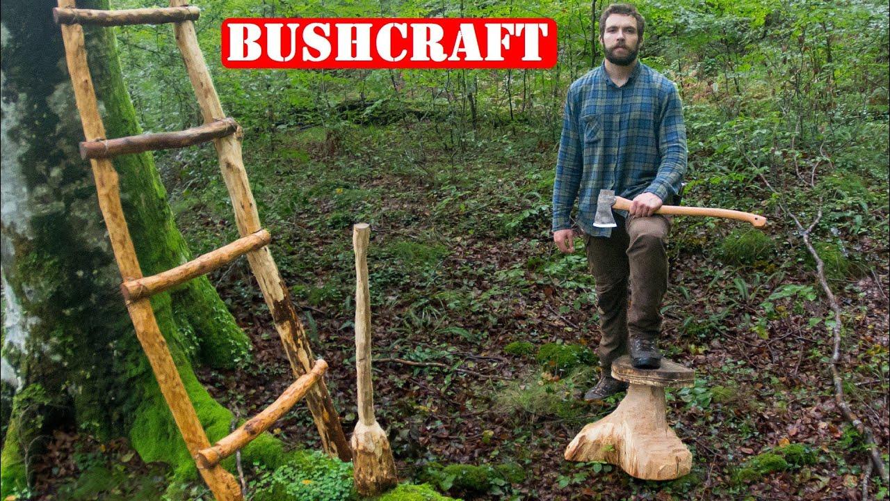 3 Proyectos De Bushcraft Para El Refugio