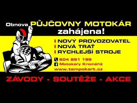 Motokáry Kroměříž promo 2017