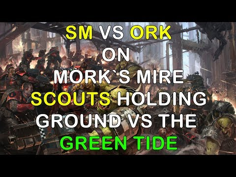 Dow3 - game 196 - SM vs Ork - Holding against the GREEN TIDE!