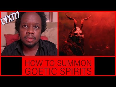 How To Summon Goetic Demons | Travis Magus | LVX777