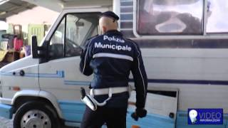 Napoli, blitz in campo rom di Scampia: sequestrate auto di lusso
