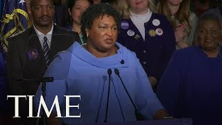Stacey Abrams Speaks As Race For Georgia Governor Just Keeps Getting Messier | TIME