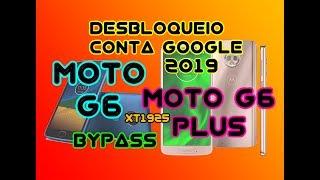 DESBLOQUEIO CONTA GOOGLE MOTO G6 E MOTO G6 PLUS XT1925  ÚLTIMO PATCH DE SEGURANÇA