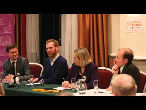 Which party for liberals? Jeremy Browne, Ryan Shorthouse, Nick Tyrone, Lisa Smart