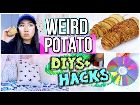 Weird Ways to Use POTATOES! DIYs, Life Hacks, Easy Recipes with a Potato   JENerationDIY