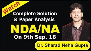NDA/NA (2) -9 sep-2018 complete Paper solution