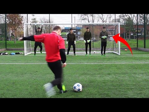 WORLDS MOST DIFFICULT PENALTY FOOTBALL CHALLENGES!!!
