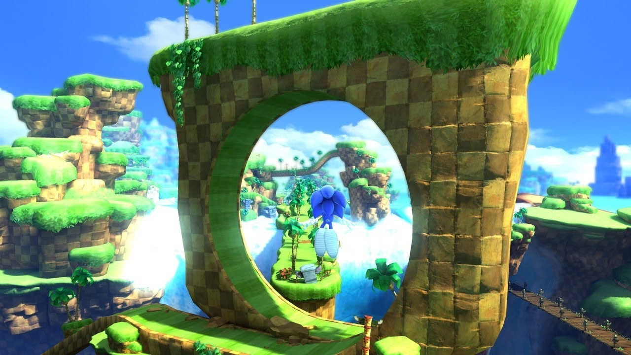 Sonic Generations Hd Tails Way Past Fast Green Hill Zone Youtube