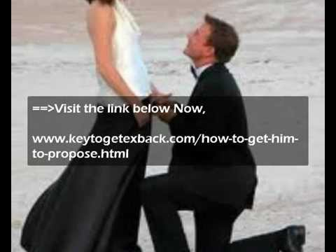 How to get your fiance to marry you