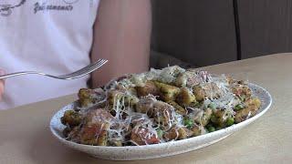 Простой рецепт из картошки и яиц Картофельные Ньокки