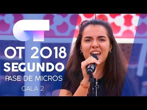 """TAINTED LOVE"" - NATALIA y MARTA   Segundo pase de micros Gala 2   OT 2018"