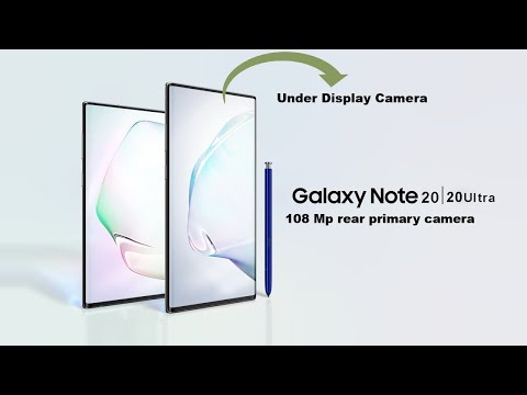 Samsung Galaxy Note 20 and Note 20 Ultra Official Video and Upcoming Features