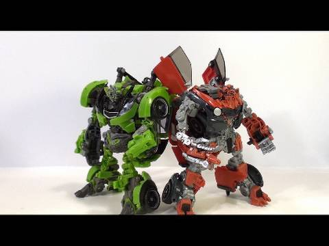 Video review of Transformers Revenge of the Fallen; Human Alliance Mudflap