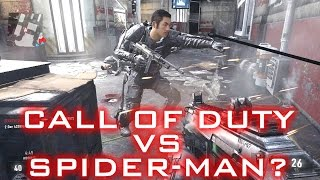 Call of Duty vs Spider-man? - Grappling Hook Multiplayer Gameplay